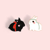 The Untamed (MDZS) Bunny Enamel Pins