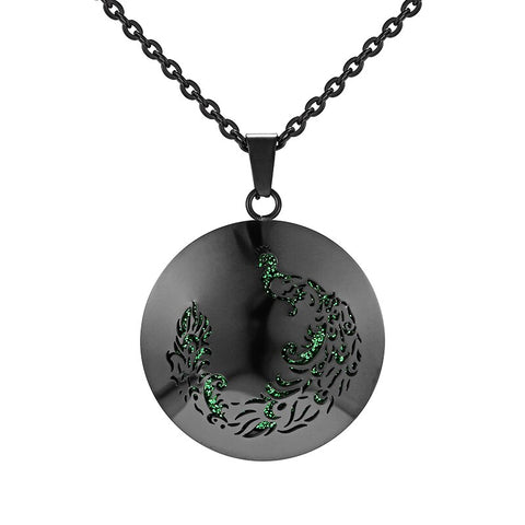 The Song of Glory Stainless Steel Aromatherapy Diffuser Locket
