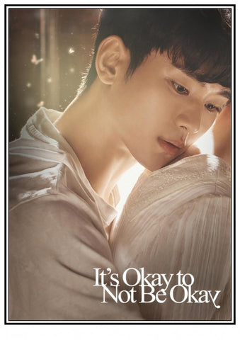 It's Okay to Not Be Okay KDrama Unframed Wall Poster Print