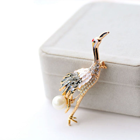 Royal Nirvana CDrama Merch Elegant Crane Pin
