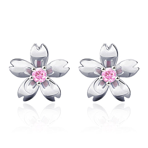 Eternal Love CDrama Merch Peach Blossoms Sterling Silver Earrings
