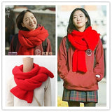 Goblin: The Lonely and Great God KDrama Yoo In-Na Cozy Winter Red Scarf