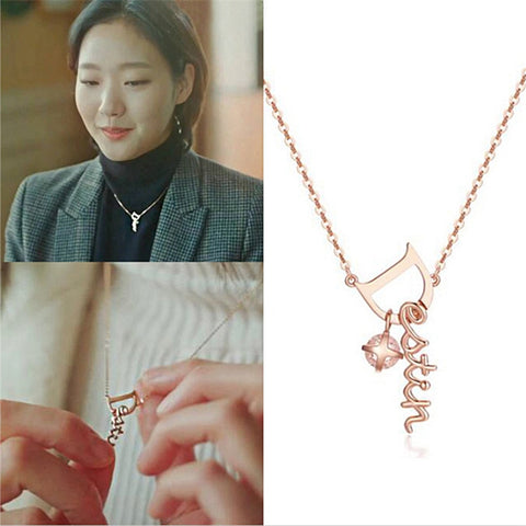 Goblin-Guardian The Great and Lonely God KDrama Merch Ji Eun Tak Pendant
