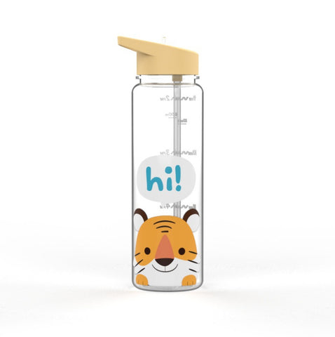The Romance of Tiger and Rose Tiger Themed Water Bottle