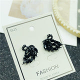 The Song of Glory CDrama Merch Black Swan Sigil Earrings