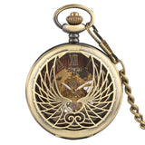 The Song of Glory CDrama Merch Soaring Phoenix Vintage Pocket Watch