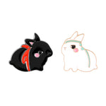 The Untamed (MDZS) CDrama Merch Bunny Enamel Pins