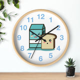Go Go Squid! Milk & Bread Wall Clock