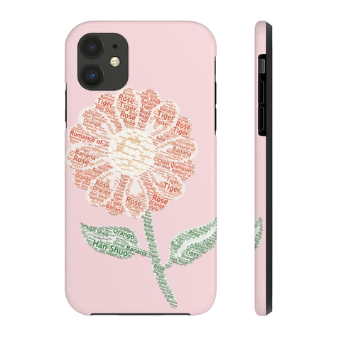 The Romance of Tiger and Rose Smartphone Custom Cases