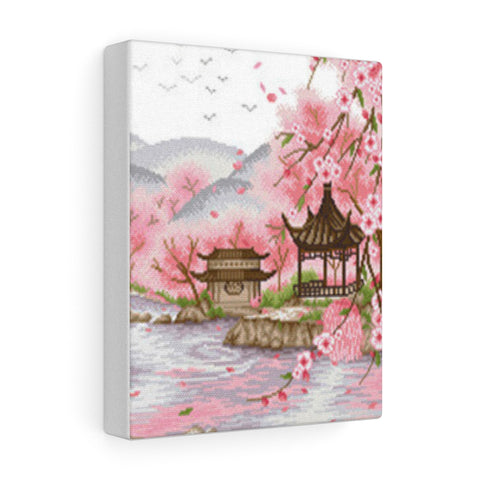 Eternal Love (Ten Miles of Peach Blossoms) Scenic Canvas