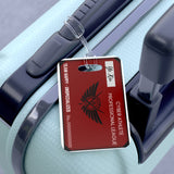 Kings Avatar Game Card Luggage Tag - Black/Red