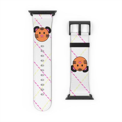 The Romance of Tiger and Rose Apple Watch Band