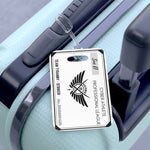 Kings Avatar Game Card Luggage Tag Black/White