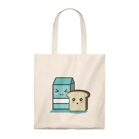 Milk Loves Bread Tote Bag