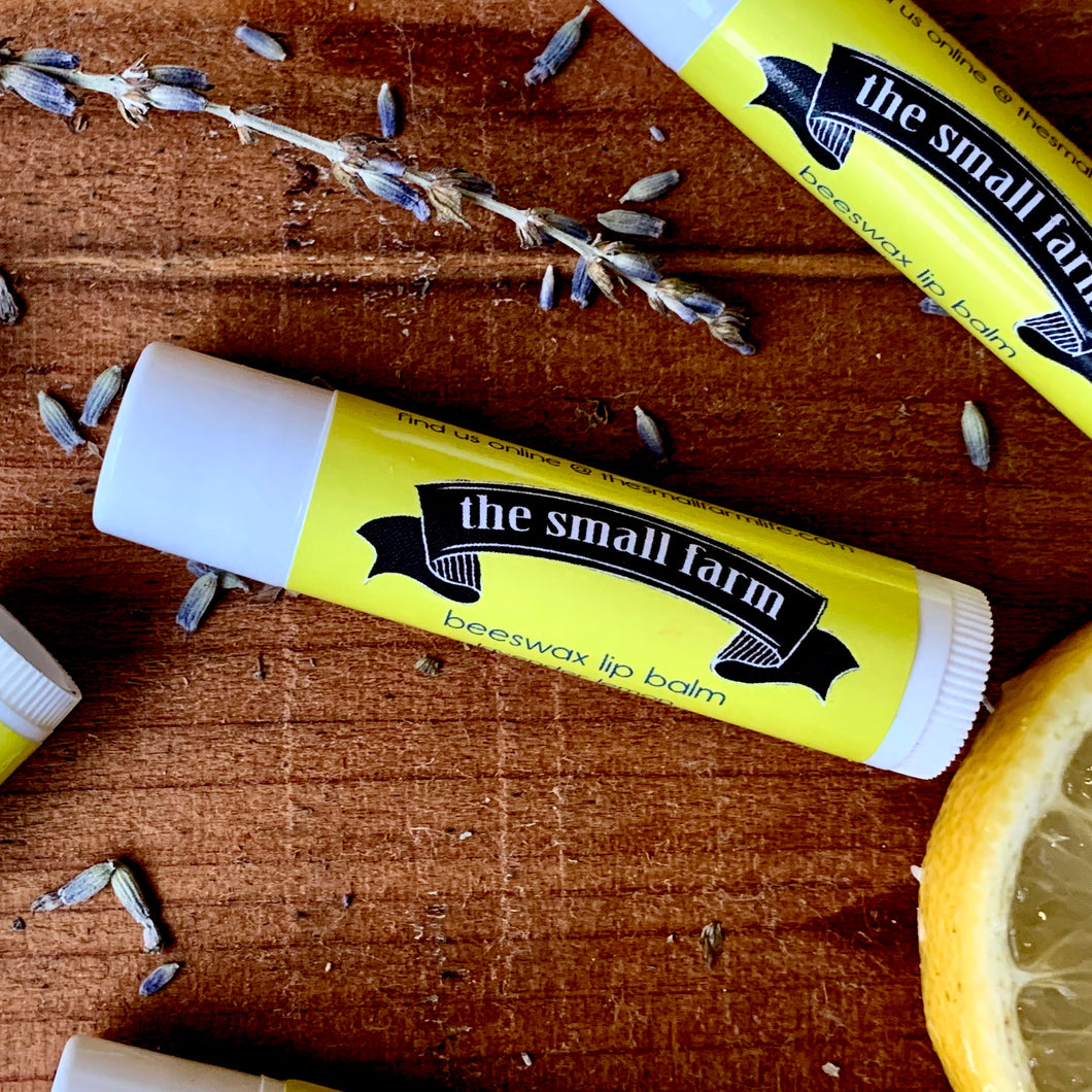 Beeswax Lip Balm - Lavender Lemon