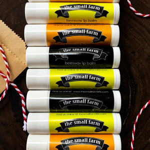 Beeswax Lip Balm - 5 Pack