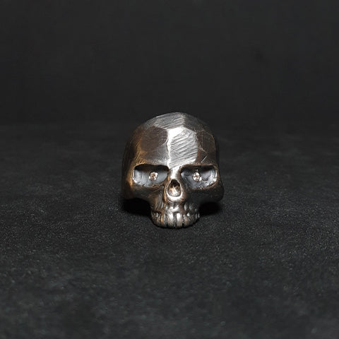 sKull N1 diamond ring