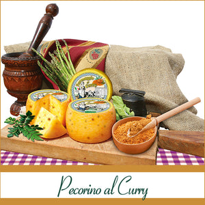 Pecorino al curry