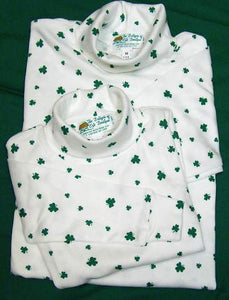 Shamrock Turtle Neck Adult