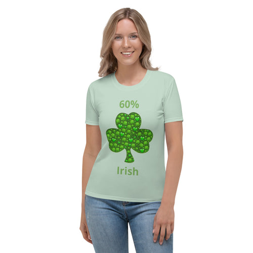 Women's T-shirt - Shamrocks