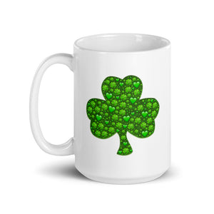 Mug with Shamrocks