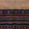 Bhujodi Ikat Silk Stole: Natural Sappanwood and Iron-Black