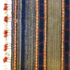 Bhujodi Ikat Silk Stole: Natural Indigo and Sappanwood
