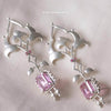 Pink Tint Earrings
