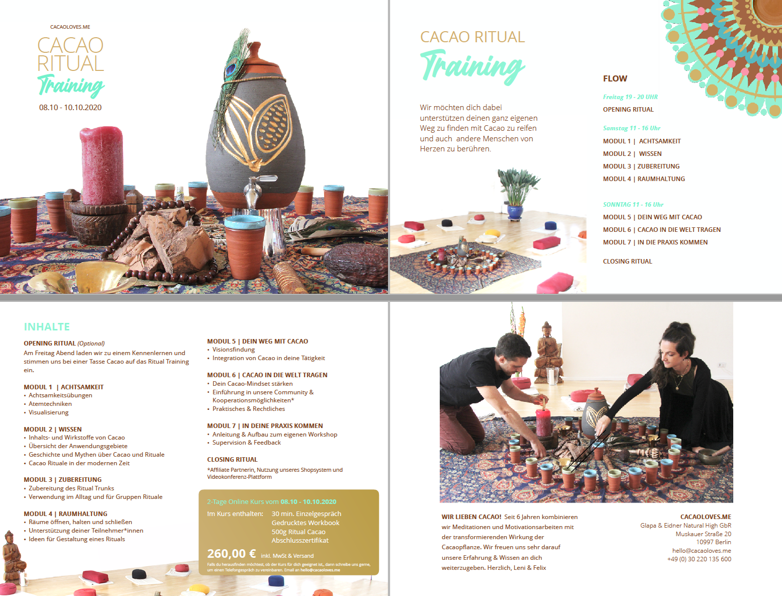 Cacao Ritual Training _Flyer