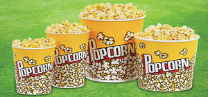 Disposable Popcorn Containers