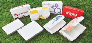 Disposable Paper Lunch Boxes