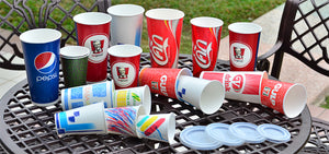 Disposable Paper Cold Cups