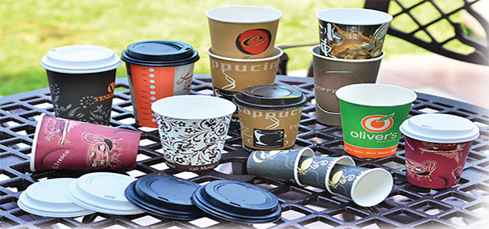 Single Walled Disposable Coffee Cups