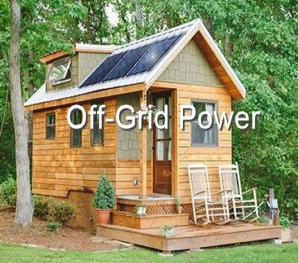 solar powered generator for off grid and outdoor use