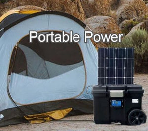 best portable solar generator for camping & outdoor events