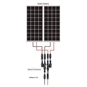 Solar Panel Y Branch Connectors