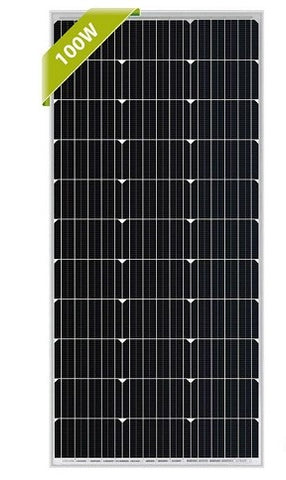 100 watt solar panel for portable power station