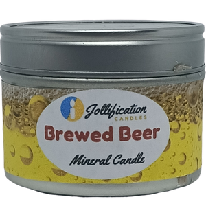 Brewed Beer Candle Tin