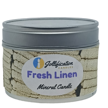 Load image into Gallery viewer, fresh Linen Candle Tin