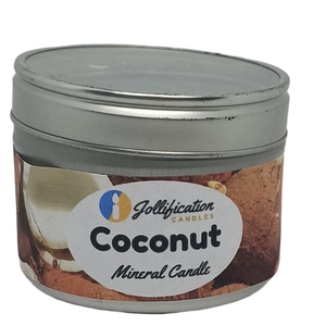 Coconut Candle Tin