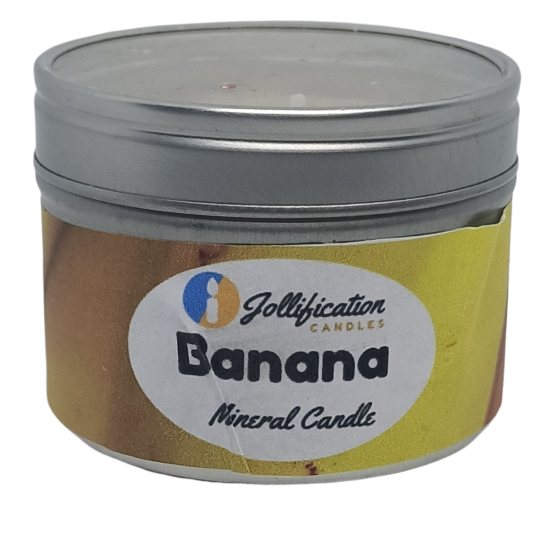Banana Candle Tin