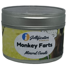 Load image into Gallery viewer, Monkey farts Candle Tin