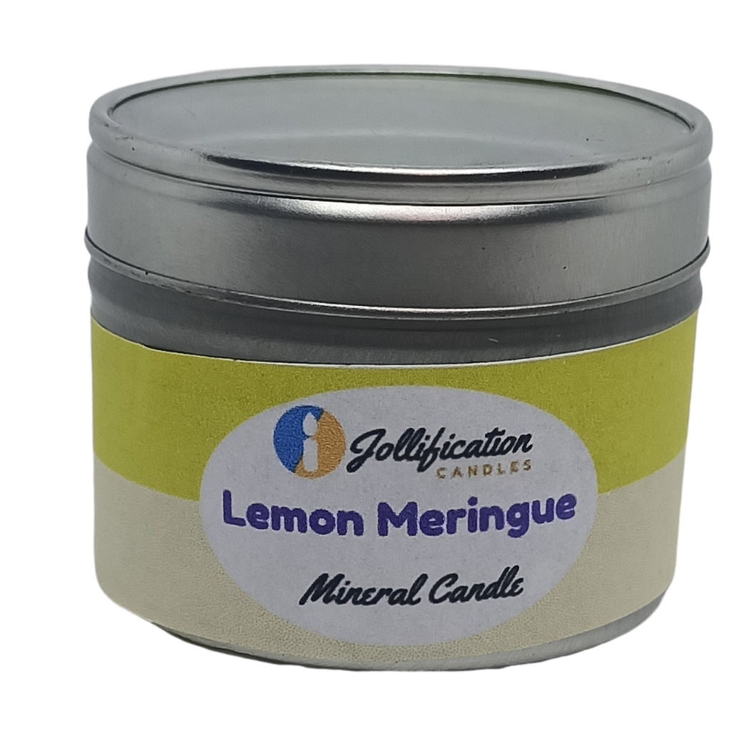 Lemon Meringue Candle Tin