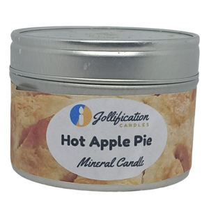 Hot Apple Pie Candle Tin