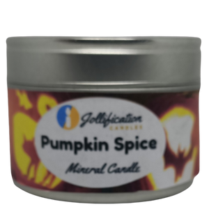 Pumpkin Spice Candle Tin