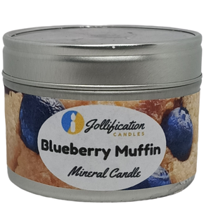 Blueberry Muffin Candle Tin