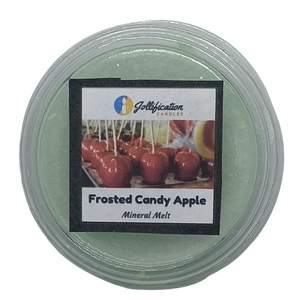 Frosted Candy Apple Deli Pot