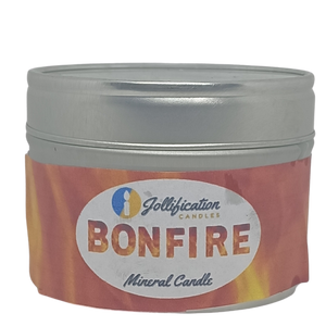 Bonfire Candle Tin