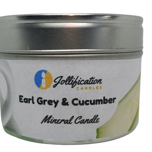 Earl Grey and Cucumber Candle Tin