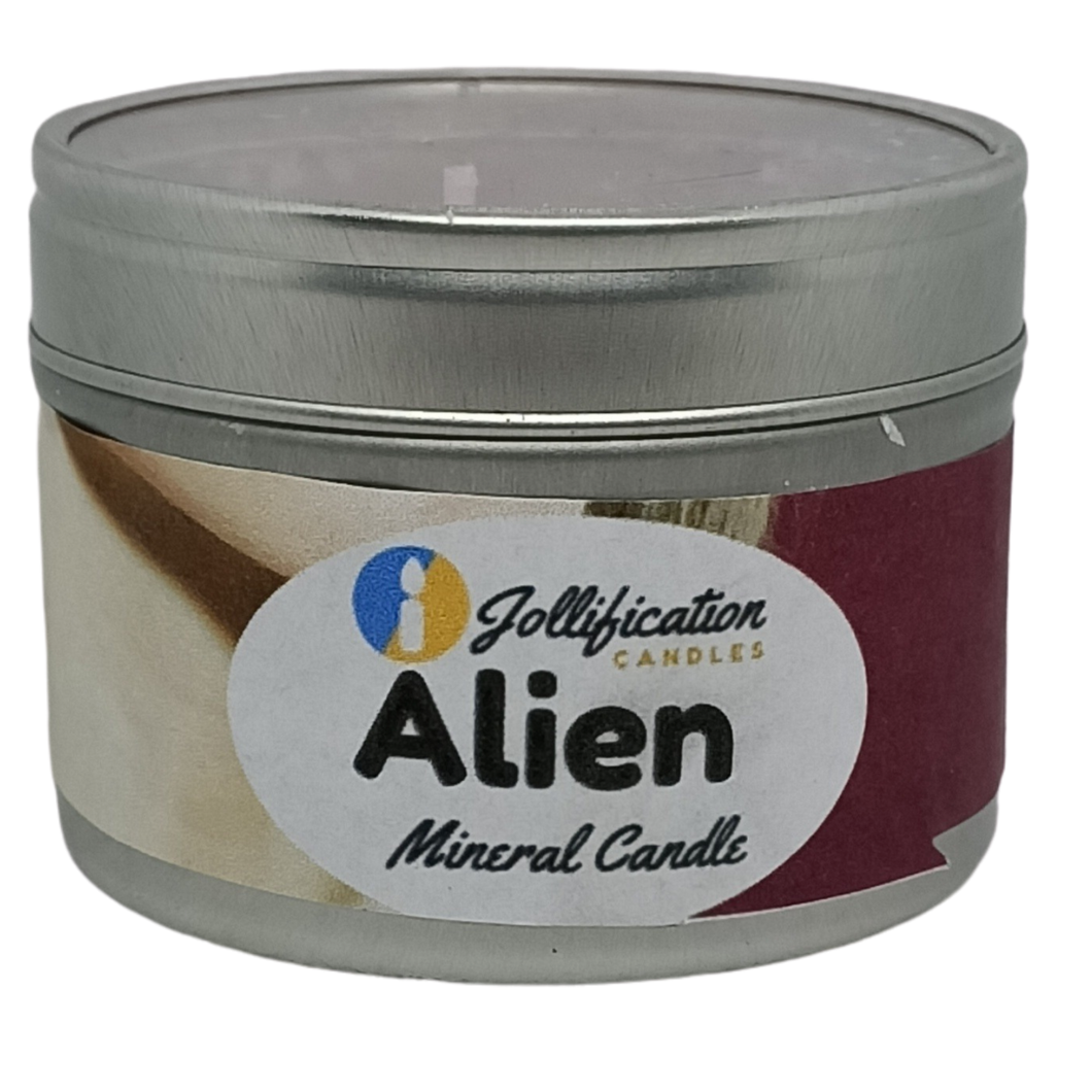 Alien Candle Tin